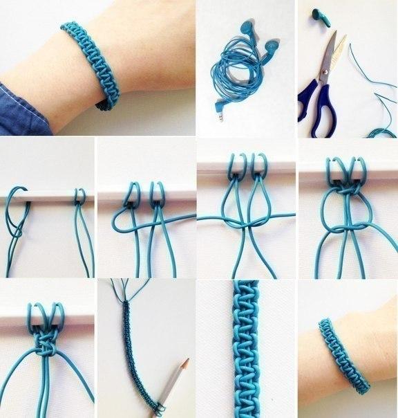 Как сделать простой браслет