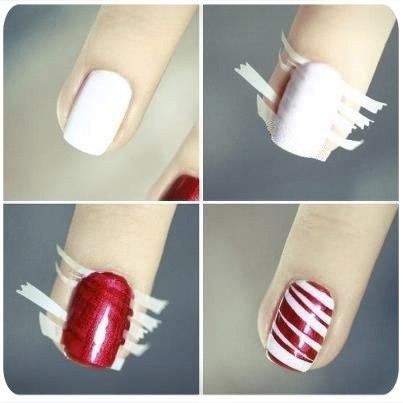 Сделать маникюр в домашних условиях на коротких ногтях